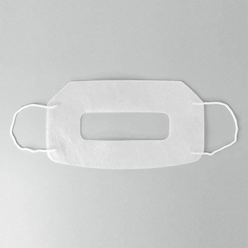 VR体験用フェイスマスク ニンジャマスク NINJA MASK 衛生布 Gear VR Oculus Rift PlayStation VR HTC Vive対応 (50枚セット)