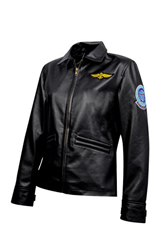 The Jasperz Top Gun Women's Flight Jacket-Fast Shipping,Large ()