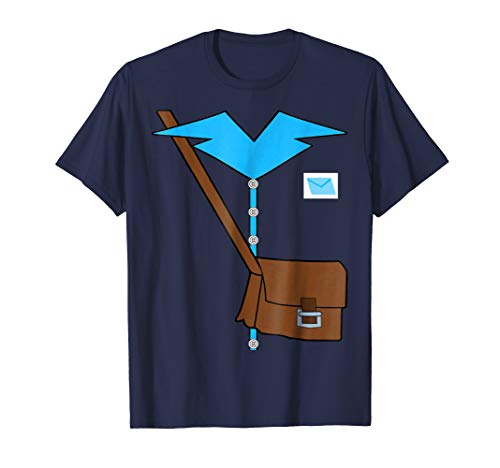 Postman with Mail bag Costume T-Shirt Halloween Dress Up
