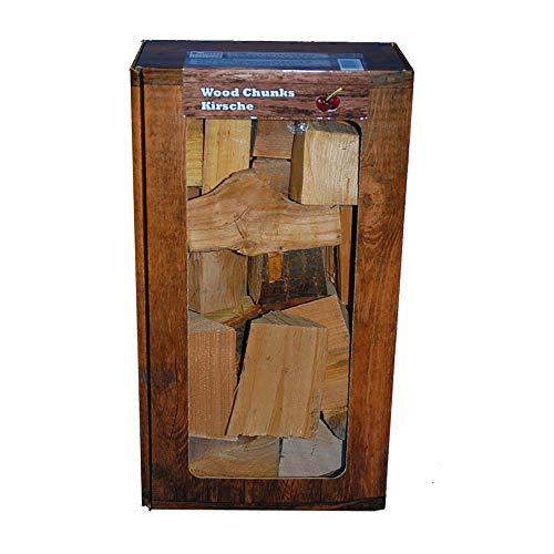 Smokerholz direkt vom Holzhof Cherry Chunks R/äucherkl/ötze Kirsche Wood Chunks 100/% Nat/ürlich f/ür optimales Raucharoma