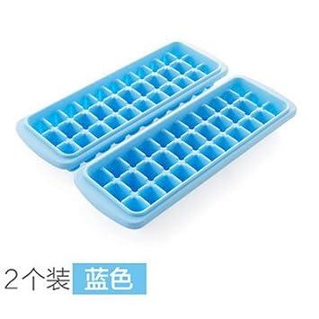 WEIAIXX Hielo Hielo Ice Bar Ice Box Caja Formato Inicio Moldes Para Helado Ice Cajas De Hielo Ice Stick Stick Helado Molde Hielo 3378 - Azul: Amazon.es: ...