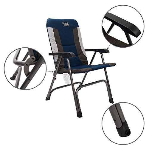 Cheap Timber Ridge Camping Chair Portable High Back With