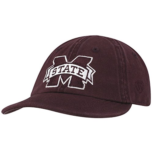 Top of the World Mississippi State Bulldogs Infant Hat Icon, Maroon, Adjustable
