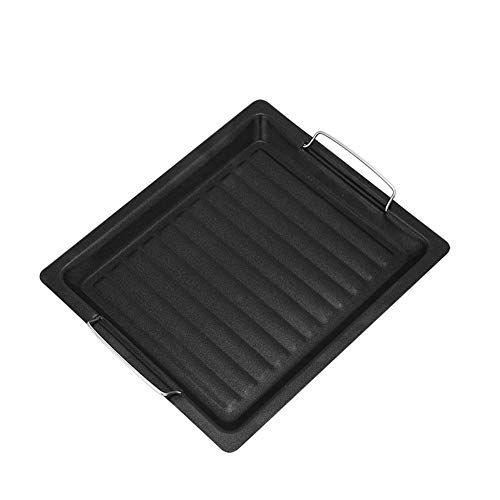 YUEBAOBEI Baking Sheet,Nonstick Sheet Pan Set, Dishwasher Safe, Organic Environmental Friendly Premium Coating, Carbon Steel Half Oven Tray ()