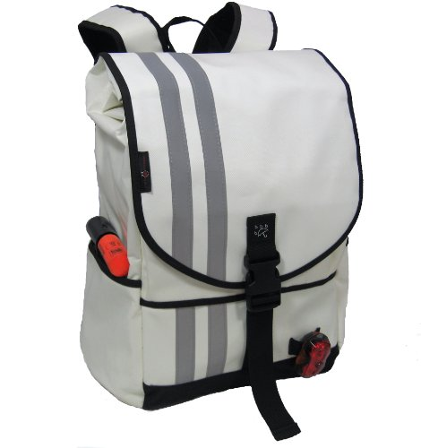 Banjo Brothers Commuter Backpack (Medium, White)
