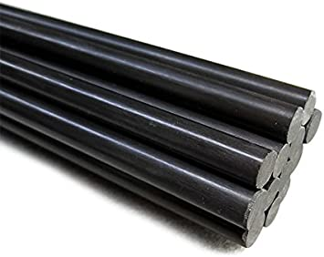 CynKen 1 Pieces 6x900mm Carbon Fiber Rods for Kites,Sand Table RC Airplanes,and More
