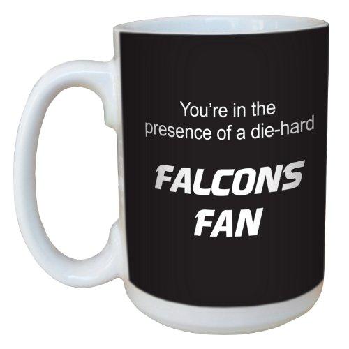 Tree-Free Greetings lm44108 Falcons Football Fan Ceramic Mug with Full-Sized Handle, 15-Ounce