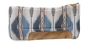 Weaver Leather All Purpose Contoured Saddle Pad, Indigo Blue, 30 X 30-Inch
