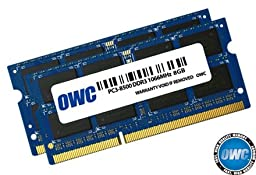 16.0GB OWC PC3-8500 DDR3 1066MHz Kit (8GBx2)