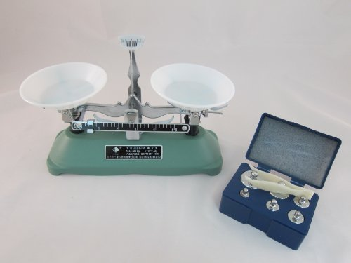 The scale weighing experiment observation of independent research! Scale balance scale balance 200g elementary school (japan import)