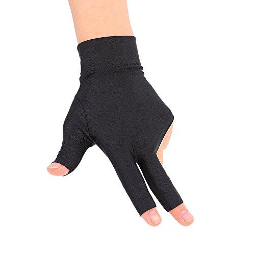 Snooker Left Hand Three Fingertip Glove - 3