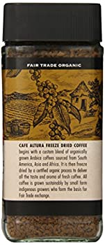 Cafe Altura Freeze Dried Instant Organic Coffee, 3.53 Ounce (Pack Of 2) 1