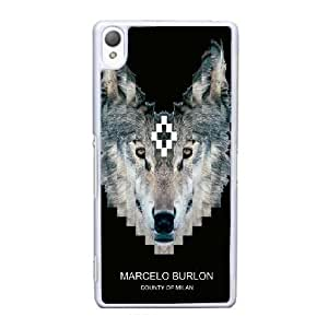 Sony Xperia Z3 Cell Phone Case White MARCELO BURLON WTHG1006192