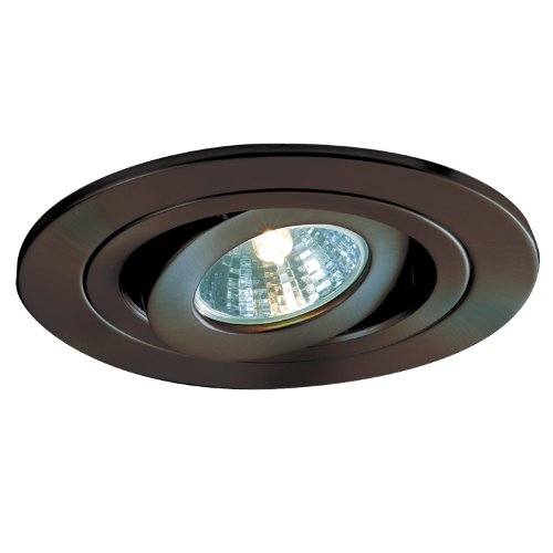 Gimbal Ring Recessed Lighting - Halo Recessed 1495TBZ 4-Inch Trim Adjustable Gimbal Tuscan Bronze