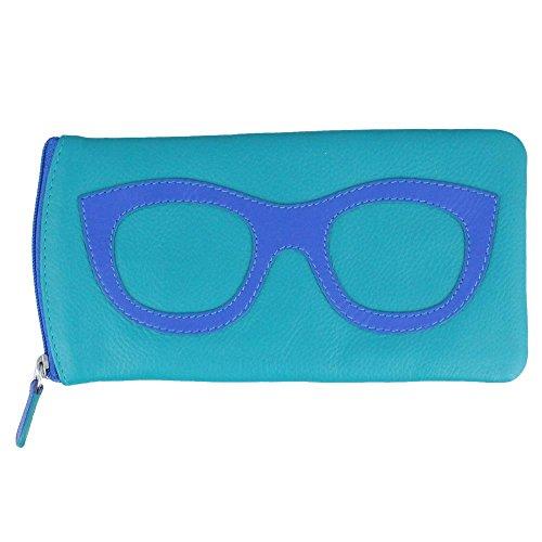 ili New York 6462 Leather Eyeglass Case ()