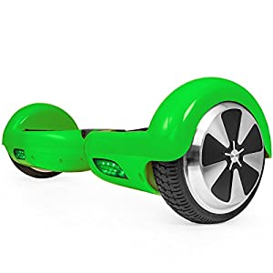 Self-Balancing Scooter 2 Wheels Electric Hoverboard UL Certified with Carrying Bag (Green)