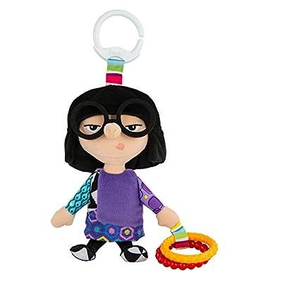 Lamaze Disney/Pixar Clip & Go, Edna Clip-On Stroller Toy : Baby