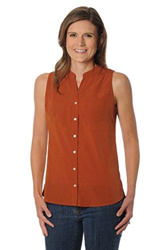 (UG Apparel NCAA Texas Longhorns Women's Tunic Tank Top, Small, Burnt Orange)