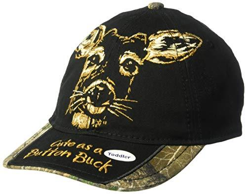 (Buck Wear Button Toddler Hat, Multi, One Size)