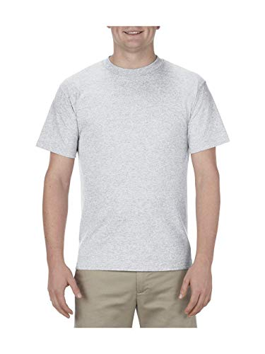 Alstyle Apparel AAA Men's Classic T-Shirt, Ash, -