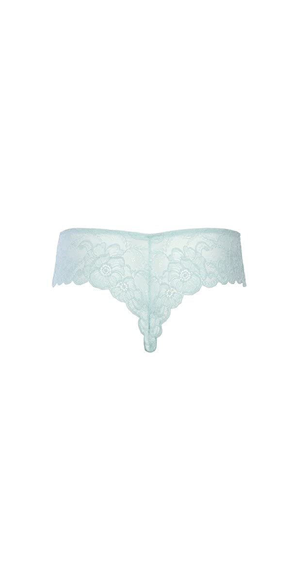 6b339bea2a496 Musotica Sexy Plus Size Soft Textured Lace High Leg Tanga  Amazon.ca   Clothing   Accessories