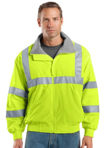 Port Authority Safety Challenger Jacket with Reflective Taping, XS, Safety ()