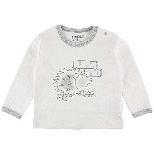 FIXONI Baby Langarm Shirt Tank Top Off-White (Off White 00-31) 32805
