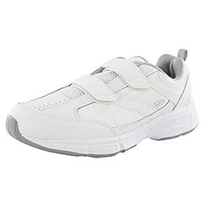 Dr. Scholl's – Men's Brisk Light Weight Dual Strap Sneaker, Wide Width