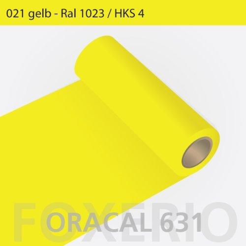Your Design Oracal 631-Rollo de Papel Adhesivo, para Mueble 31 cm x 5 m, Amarillo, 5 m x 31 cm: Amazon.es: Hogar