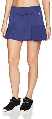HEAD Para mujer Skort (falda con pantalón corto) - Azul -: Amazon ...