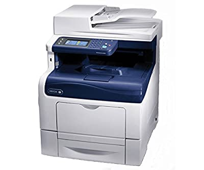 Xerox WorkCentre 6605N Laser Multifunction Printer - Color - Copier/Fax/Printer/Scanner -1200 x 1200 dpi Print - 600 sheets Input - Fast Ethernet - USB . . . (1