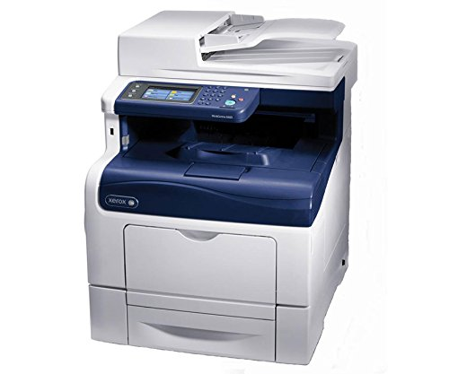 Xerox WorkCentre 6605N Laser Multifunction Printer - Color - Copier/Fax/Printer/Scanner -1200 x 1200 dpi Print - 600 sheets Input - Fast Ethernet - USB . . . (1 -
