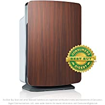 "Alen BreatheSmart Classic Customizable Air Purifier Nurture ""Mom"" Smart Bundle with & HEPA Filter for Diaper & Unwanted Body Odors, 1100 Sq. Ft., in Rosewood"