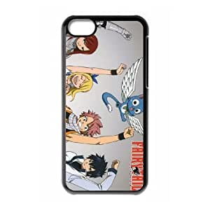 Protection Cover Qcbbx iPhone 5C Black Phone Case Fairy Tail Personalized Durable Cases