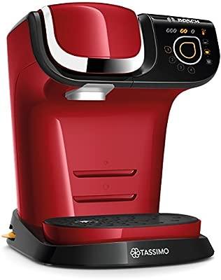 Bosch TAS6003 Tassimo My Way - Cafetera automática de cápsulas, interfaz SensorTouch, 1500 W, color rojo