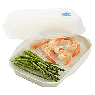 Nordic Ware Microwaveable Vegetable/Seafood Steamer (B015OXR848) | Amazon price tracker / tracking, Amazon price history charts, Amazon price watches, Amazon price drop alerts