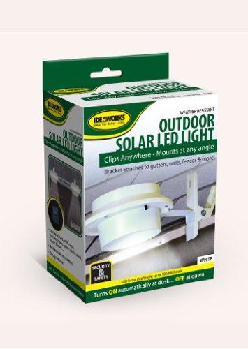Jobar International JB6806 Outdoor Solar Led Light - white ()