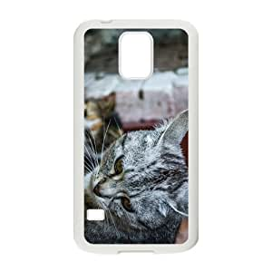 Cat Family Hight Quality Plastic Case for Samsung Galaxy S5 by Maris's Diary