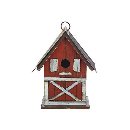 Goose Creek Hanging Bird House Outdoor Garden Decorative Wooden Pet Birdhouse by Goose Creek