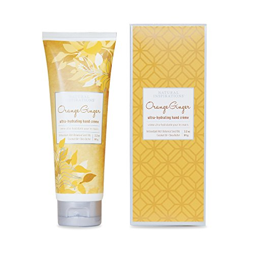 - Natural Inspirations Orange Ginger Ultra Hydrating Hand Creme