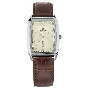 Titan Gents Karishma Analog Champagne Dial Men's Watch-NM1737SL02 / NL1737SL02