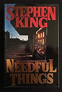 Stephen King NEEDFUL THINGS 1ST edition 1ST PRINT!