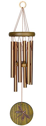Woodstock Chimes Dragonfly Wind Chime, Green- Habitats Collection