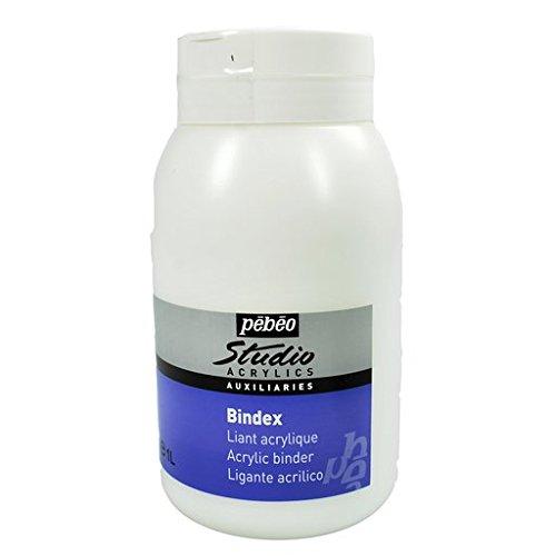 Pebeo Studio Acrylics Auxiliaries, Bindex Acrylic Binder, 1 L