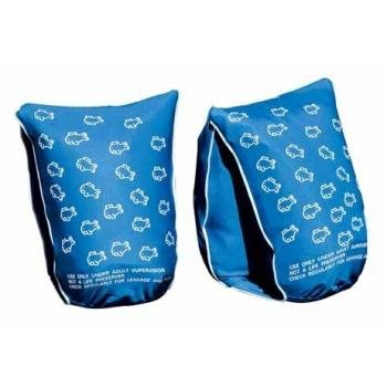 Boys Floatsafe Flotie Soft Fabric Armbands Floatie Blue For Kids Ages 1 To 3