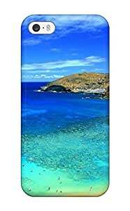 New Style Tpu 5/5s Protective Case Cover/ Iphone Case - Beach S