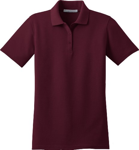 Port Authority Ladies Stain-Resistant Sport Shirt, 3XL, Burgundy
