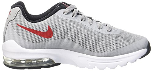 Gris Nike Red GS Grey Gar Chaussures Invigor Varsity on White de Black Wolf Course Max Air OUxOrnpz