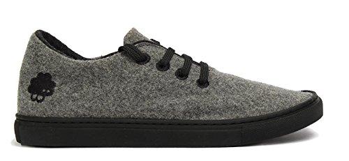 Price comparison product image Baabuk Sneaker, Light Grey / Black, EU 39 M