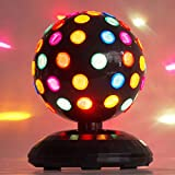 Kicko Spinning Disco Ball with LED Lights - for